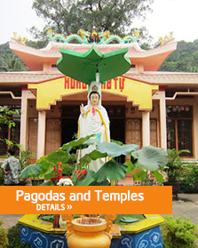 Pagodas and Temples
