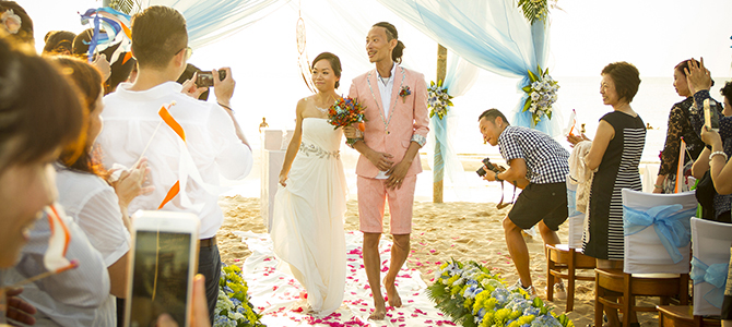 Wedding on the beach at Eden Resort Phu Quoc 670x300